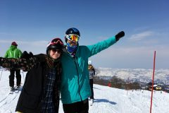 A great day with friends in Nozawa!