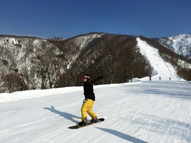 Skyline is one of Nozawa's longest runs. Come here if you have a need for speed.